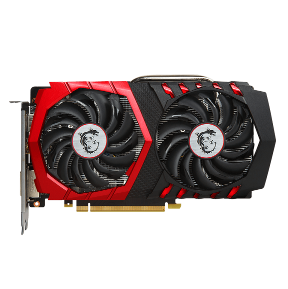 Видеокарта GeForce GTX1050Ti 4096Mb MSI GTX 1050 Ti GAMING 4G, 1290/7008, 128bit, GDDR5, DVI, HDMI, DP