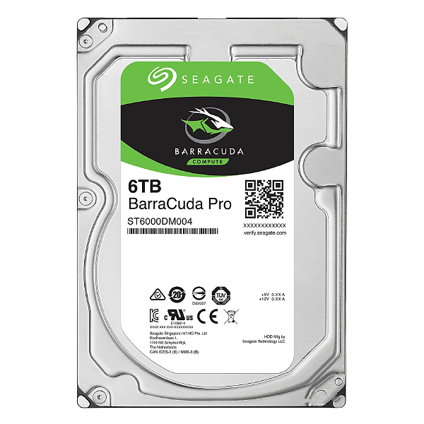 "Жесткий диск 3.5"" 6Tb Seagate Barracuda Pro ST6000DM004, 7200rpm, 256Mb, SATA3"