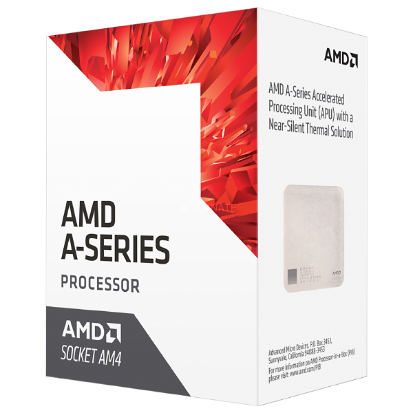 Процессор AMD A8-9600 4x3.1Ghz/5000Mhz/2Mb AM4 BOX