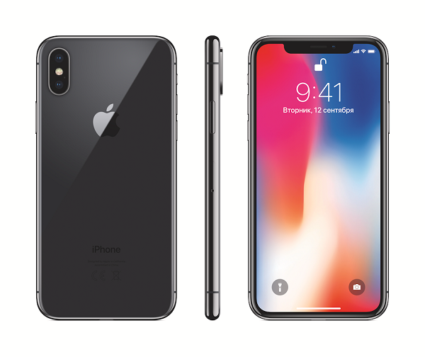 Смартфон Apple iPhone X 256Gb Space Grey MQAF2RU/A