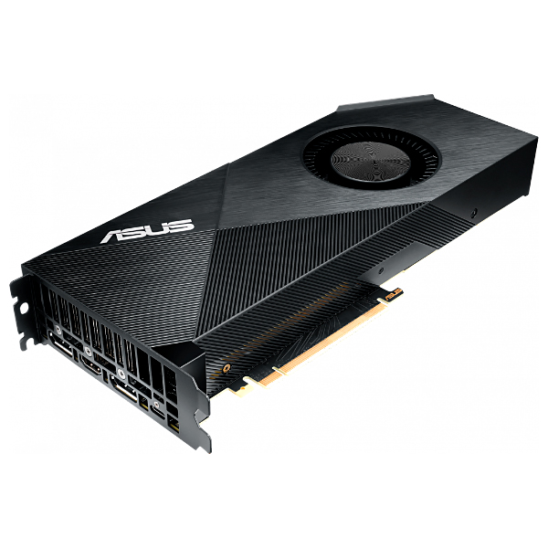 Видеокарта GeForce RTX2070 8192Mb Asus TURBO-RTX2070-8G, 1410/14000, 256bit, GDDR6, HDMI, 2хDP, Type-C