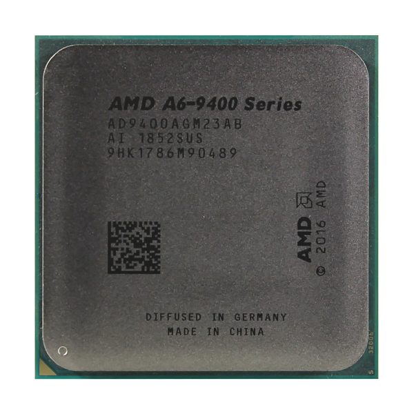 Процессор AMD A6-9400 2x3.7Ghz/5000Mhz/1Mb AM4 OEM