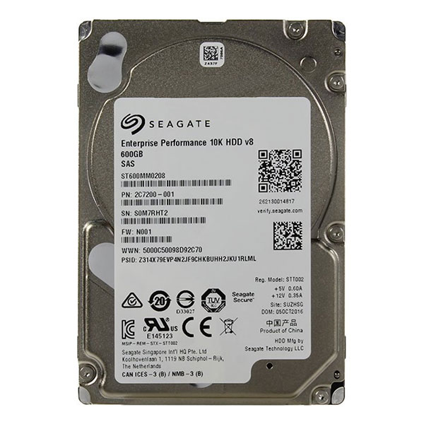 "Жесткий диск 2.5"" 600Gb Seagate Enterprise Performance ST600MM0208, 10000rpm, 128Mb, SAS 3.0"