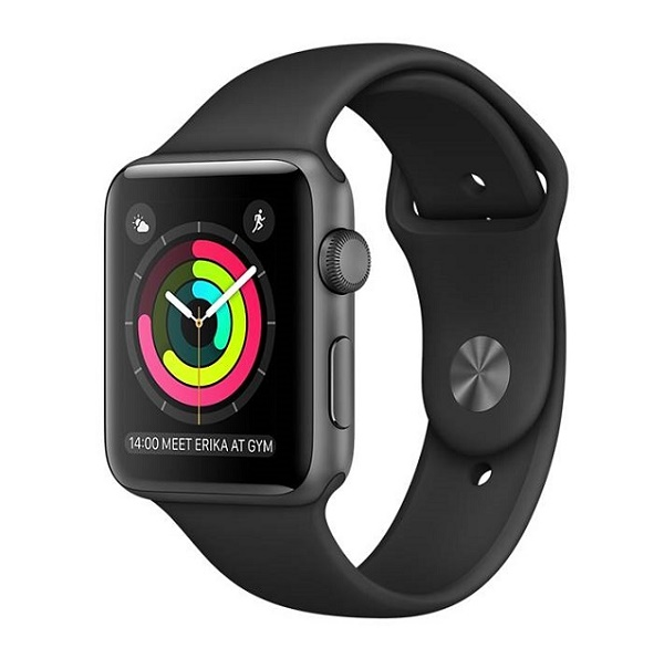 Смарт-часы Apple Watch Series 2 38mm Aluminum Case with Sport Band MP0D2, Black