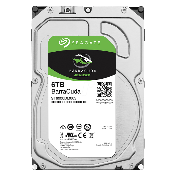 "Жесткий диск 3.5"" 6Tb Seagate Barracuda ST6000DM003, 5400rpm, 256Mb, SATA3"