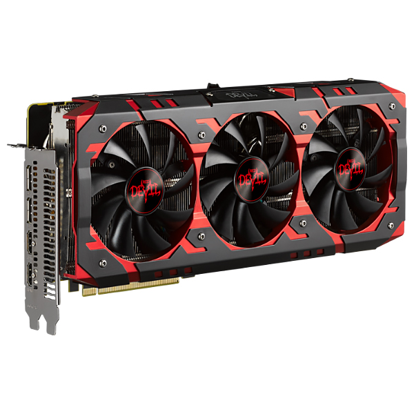 Видеокарта Radeon RX VEGA 56 8192Mb PowerColor Red Devil RX VEGA 56 8GB HBM2, 1417/1890, 2048bit, HBM2, 2xHDMI, 2xDP