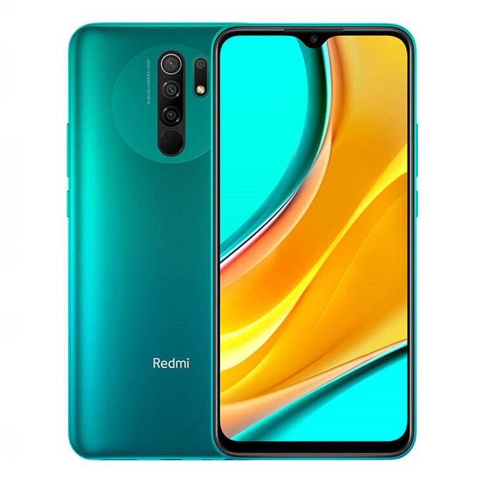 Смартфон Xiaomi Redmi 9 4/64Gb зеленый Global Version