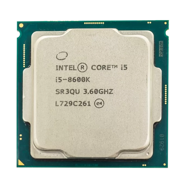 Процессор Intel Core i5 8600K, 6x3.6GHz/9Mb/UHDG 630 LGA-1151v2 OEM