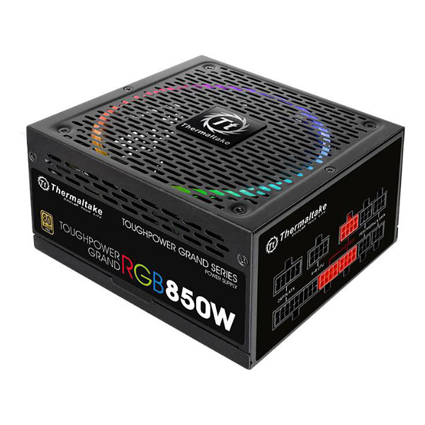 Блок питания ATX 850 Вт Toughpower Grand RGB Gold TPG-850AH3FSG-R , 80Plus Gold