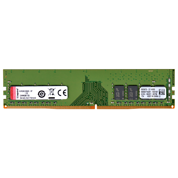 Оперативная память DDR-4 DIMM 8Gb PC-21300 2666Mhz CL19 Kingston KVR26N19S8/8