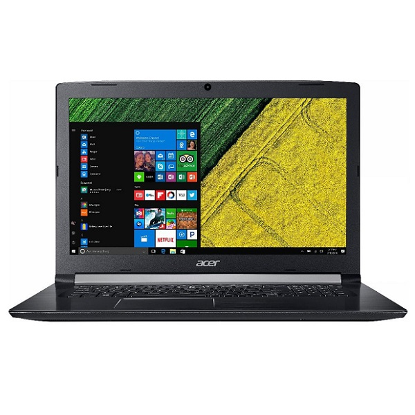 "Ноутбук Acer Aspire A517-51G-56M9, i5 8250U/8Gb/1Tb/GF MX150 2Gb/DVDRW/17.3""/Windows10/черный"