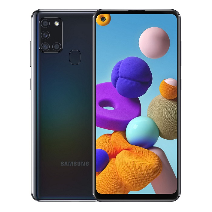 Смартфон Samsung Galaxy A21s 3/32Gb черный RU