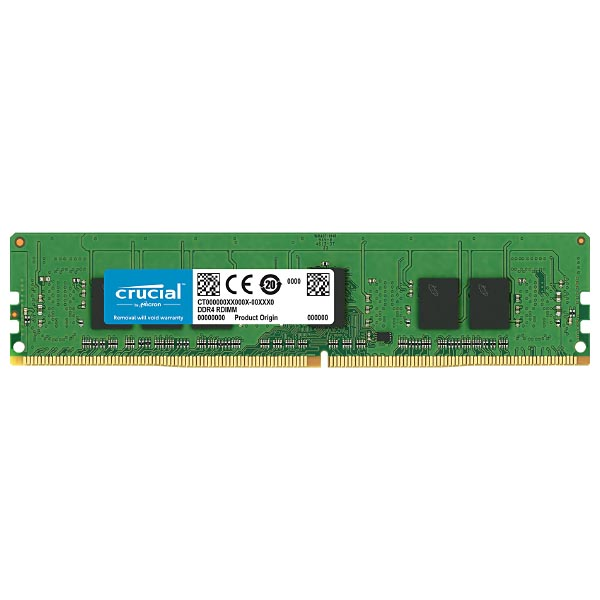 Оперативная память DDR-4 DIMM 4Gb PC-21300 2666Mhz CL19 Crucial CT4G4RFS8266, ECC, Reg
