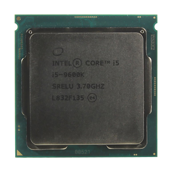 Процессор Intel Core i5 9600K, 6x3.7GHz/9Mb/UHDG 630 LGA-1151v2 BOX, без куллера