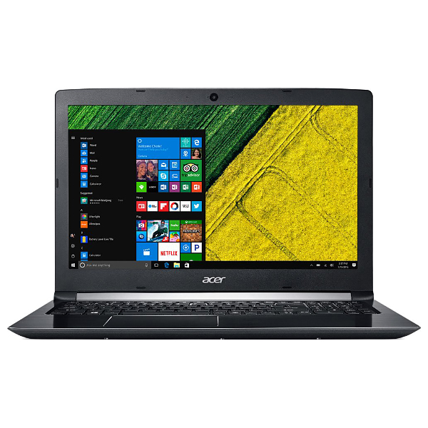 "Ноутбук Acer Aspire A515-41G-T551, A10 9620P/8Gb/1Tb/RX540 2Gb/15.6""/Windows10/черный"