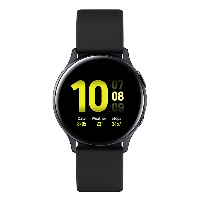 Смарт-часы Samsung Galaxy Watch Active2 алюминий 44мм лакрица