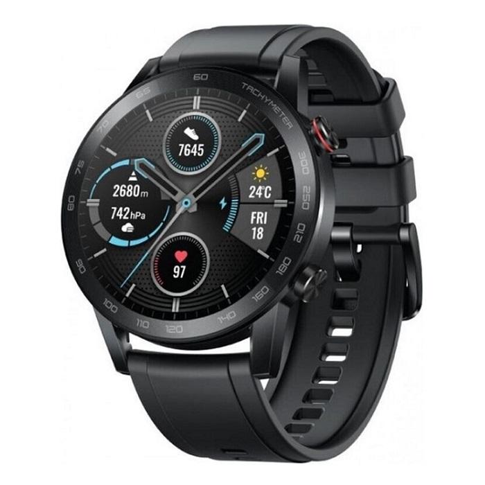 Купить Смарт-часы Honor MagicWatch 2 46mm (silicone strap) черные в Екатеринбурге по низкой цене