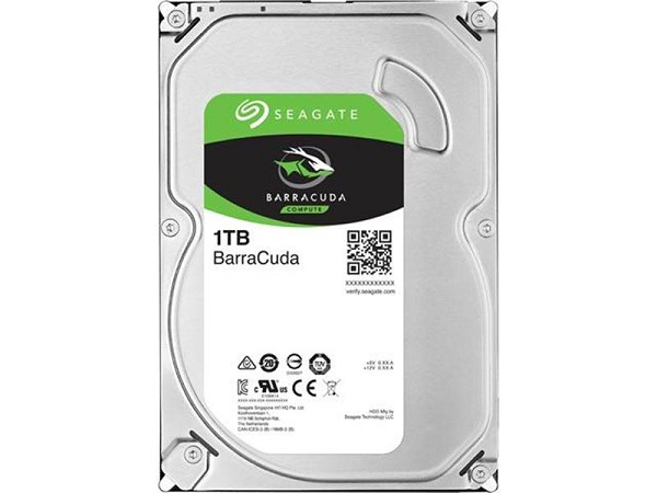 "Жесткий диск 3.5"" 1Tb Seagate BarraCuda ST1000DM010, 7200rpm, 64Mb , SATA3"
