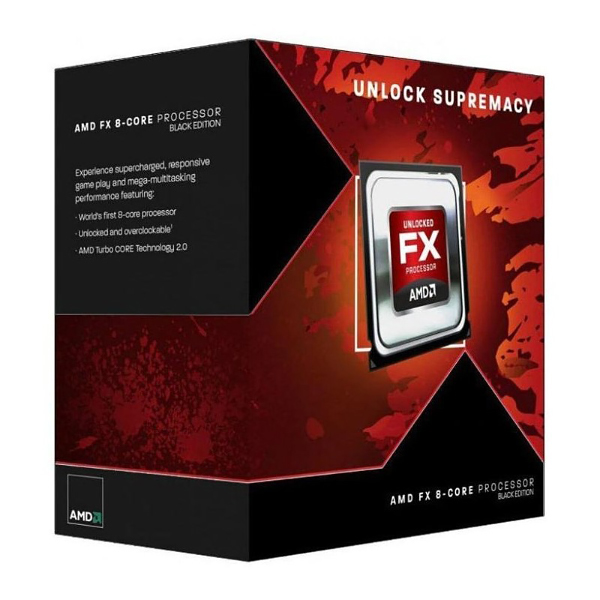 Процессор AMD FX 8300 8x3.3Ghz/5200Mhz/8Mb AM3 BOX