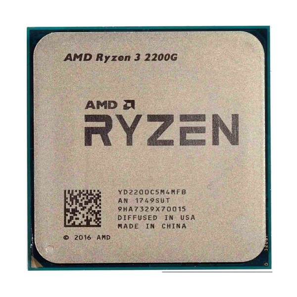 Процессор AMD Ryzen 3 2200G 4x3.5Ghz/4Mb AM4 BOX