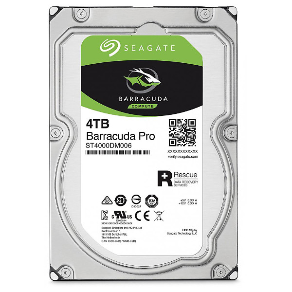 "Жесткий диск 3.5"" 4Tb Seagate Barracuda Pro ST4000DM006, 7200rpm, 128Mb, SATA3"