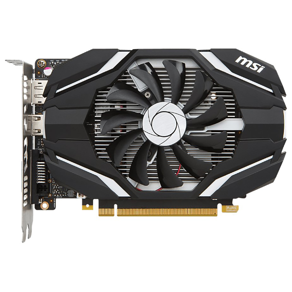 Видеокарта GeForce GTX1050 2048Mb  MSI GTX 1050 2G, 1354/7008, 128bit, GDDR5, DVI, HDMI, DP