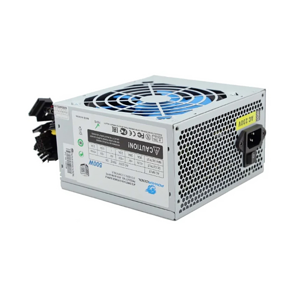 Блок питания ATX 500 Вт PowerCool ATX-500
