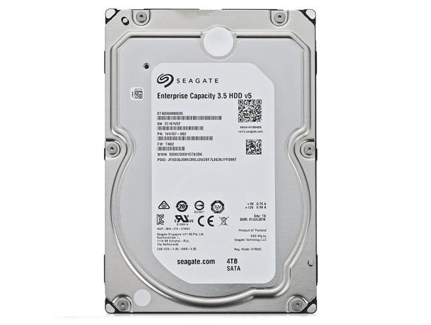 "Жесткий диск 3.5"" 4Tb Seagate Enterprise Capacity ST4000NM0035, 7200rpm, 128Mb, SATA3"