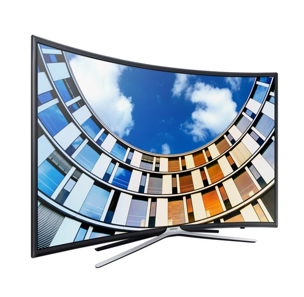 "Телевизор ЖК 49"" Samsung UE49M6550AU, 1920x1080, Smart TV, Wi-Fi, изогнутый экран"