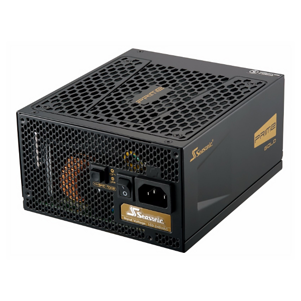 Блок питания ATX 850 Вт Seasonic PRIME Gold SSR-850GD, 80Plus Gold