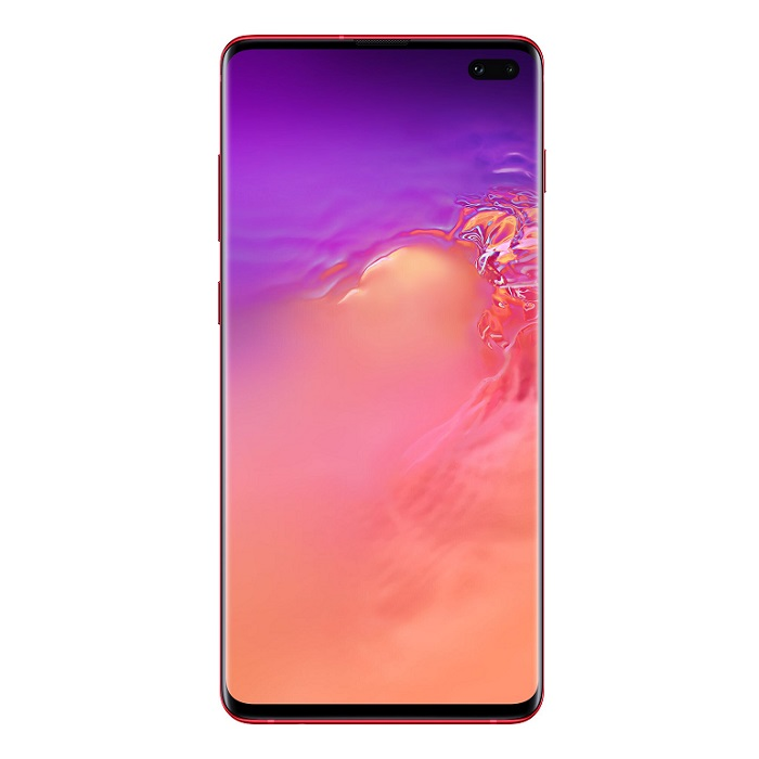 Смартфон Samsung Galaxy S10+ 8/128Gb гранат RU