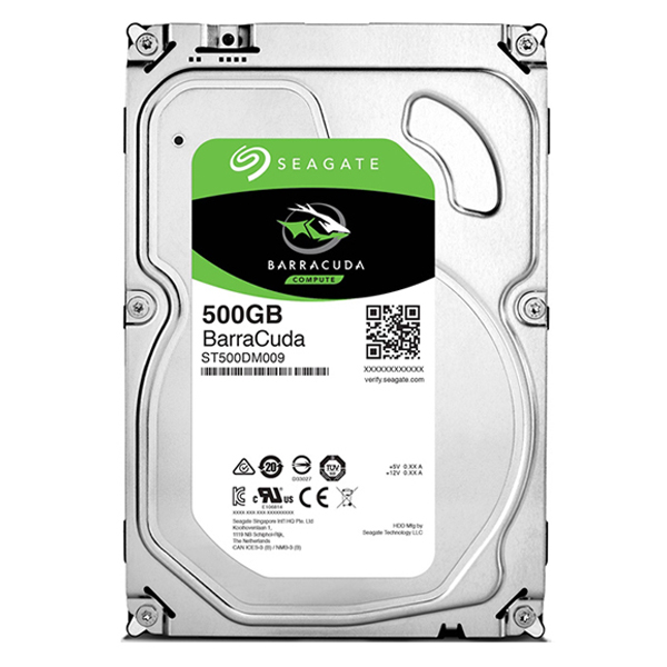 "Жесткий диск 3.5"" 500Gb Seagate BarraCuda ST500DM009, 7200rpm, 32Mb, SATA3"