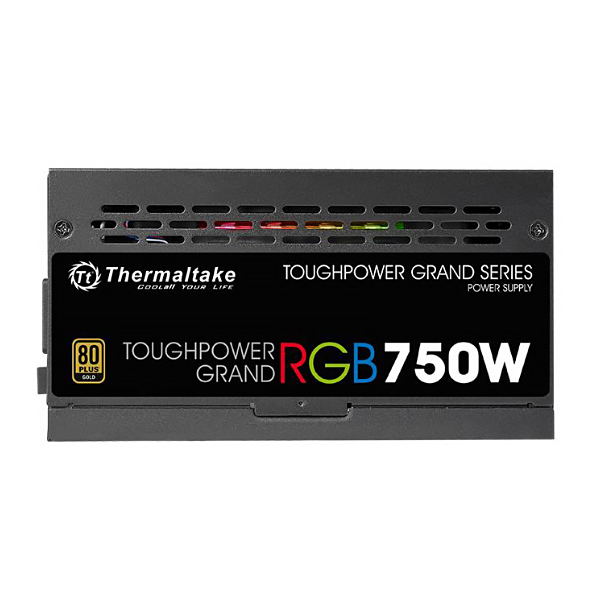Блок питания ATX 750 Вт Thermaltake Toughpower Grand RGB, 80Plus Gold