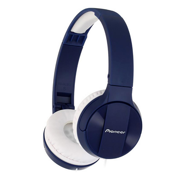 Наушники Pioneer SE-MJ503, mini jack 3.5 mm blue