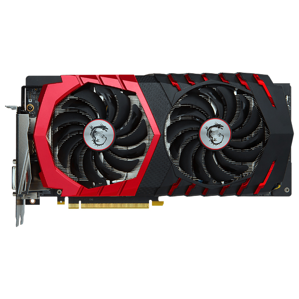 Видеокарта GeForce GTX1060 3072Mb MSI GTX 1060 GAMING X 3G, 1594/8108, 192bit, GDDR5, DVI, HDMI, 3xDP