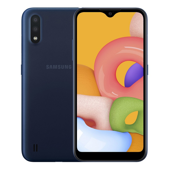 Смартфон Samsung Galaxy A01 2/16Gb синий RU