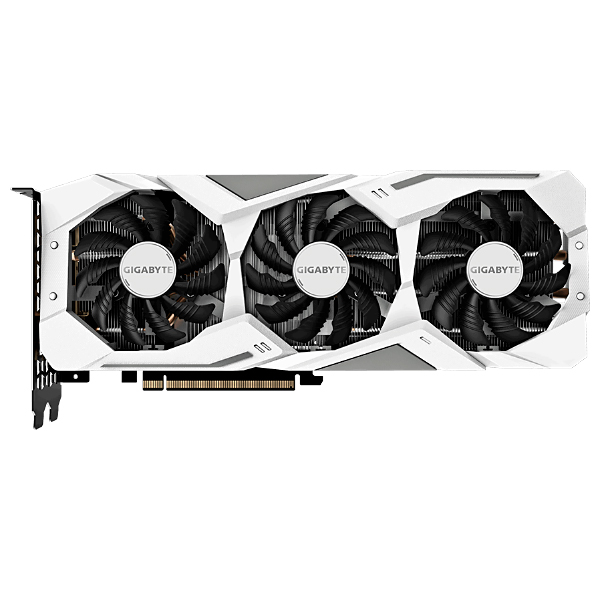 Видеокарта GeForce RTX2070 8192Mb Gigabyte GV-N2070GAMINGOC WHITE-8GC, 1725/14000, 256bit, GDDR6, HDMI, 3хDP, Type-C
