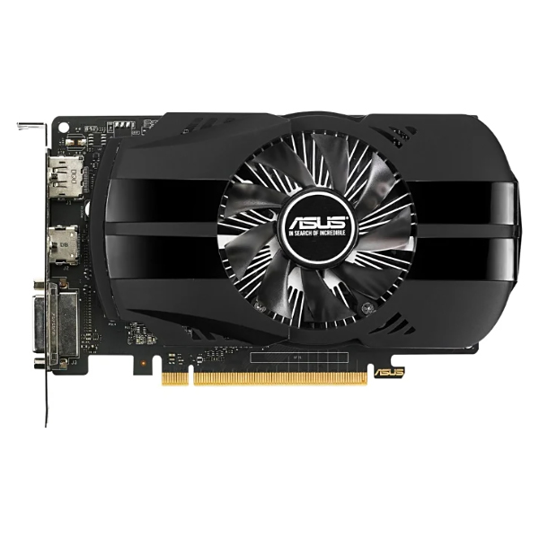 Видеокарта GeForce GTX1050 3072Mb Asus PH-GTX1050-3G, 1392/7008, 96bit, GDDR5, DVI, HDMI, DP