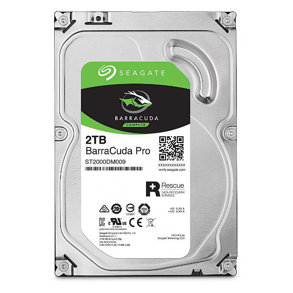 "Жесткий диск 3.5"" 2Tb Seagate BarraCuda Pro ST2000DM009, 7200rpm, 128Mb, SATA3"