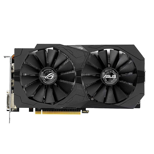 Видеокарта GeForce GTX1050Ti 4096Mb Asus ROG-STRIX-GTX1050TI-O4G-GAMING, 1379/7008, 128bit, GDDR5, 2xDVI, HDMI, DP