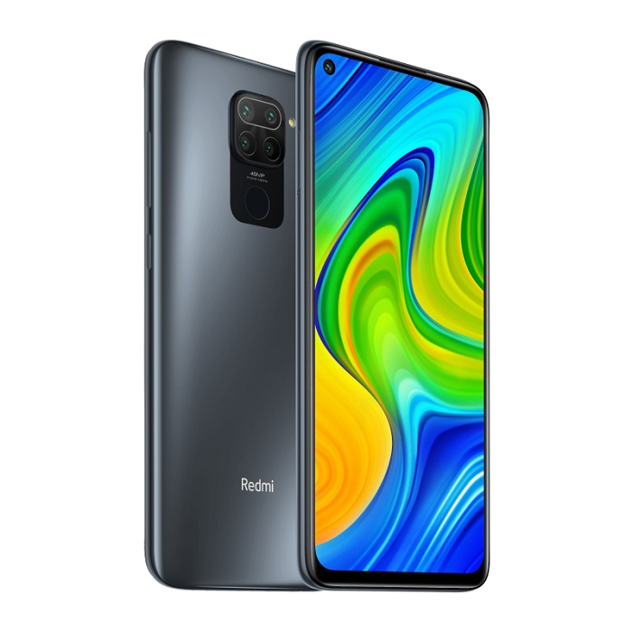 Смартфон Xiaomi Redmi Note 9 3/64Gb NFC черный RU