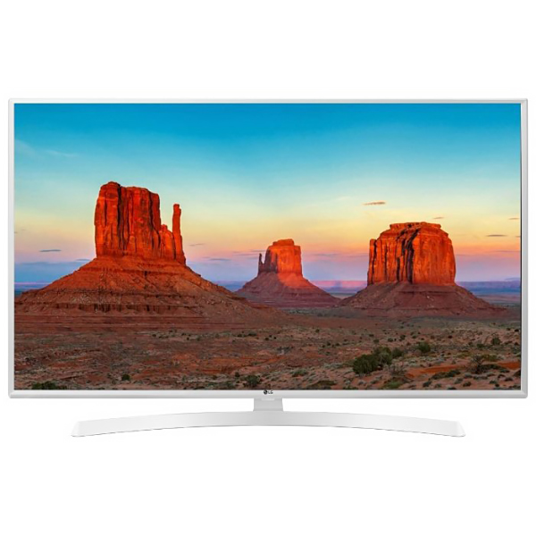 "Телевизор ЖК 48.5"" LG 49UK6390, 3840x2160, IPS, Smart TV, Wi-Fi, белый"