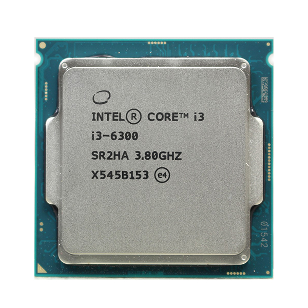 Процессор Intel Core i3 6300, 2x3.8GHz/4Mb/HDG 530 LGA-1151 OEM