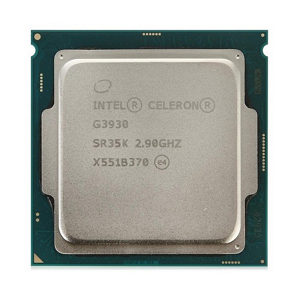 Процессор Intel Celeron G3930, 2x2.9GHz/5000Mhz/2Mb LGA-1151 BOX