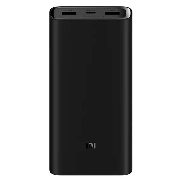 Универсальный внешний аккумулятор Xiaomi Mi Power Bank 3 Pro 20000, 20000mAh, 2хUSB, черный - фото №1