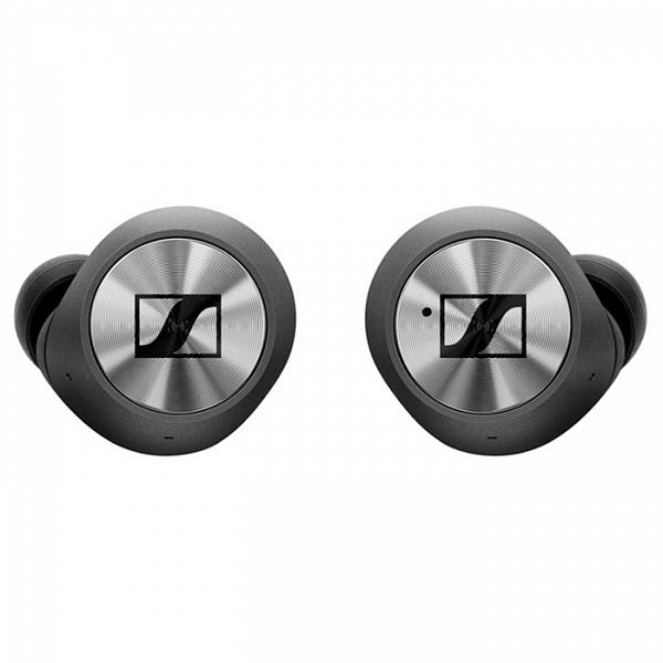 Купить Наушники с микрофоном беспроводные Sennheiser Momentum True Wireless черные, Bluetooth в Екатеринбурге по низкой цене